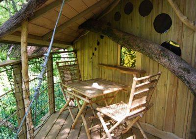 Cabane des Robinsons dans les arbres - Parc de la Belle - Hébergement insolite dans la Vienne (86) entre Paris et Bordeaux proche du parc du futuroscope