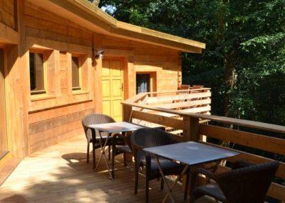 Lodge Azur - Hébergement insolite dans la Vienne (86) - Nuit insolite dans un lodge en pleine fôret