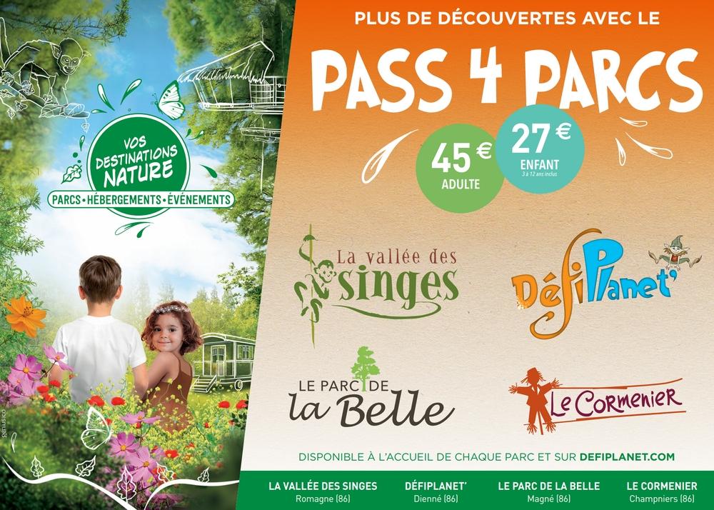 pass4parcs Vos Destinations Nature